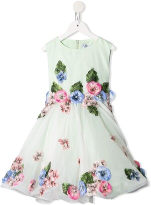 Lesy Flower Patch Dress