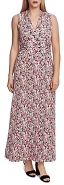 Vince Camuto Peony Fields Printed Maxi Dress