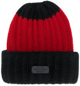DSQUARED2 knitted beanie hat - women - Angora/Wool - One Size