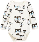 SoftBaby Organic Cotton Cat Bodysuit (Baby)