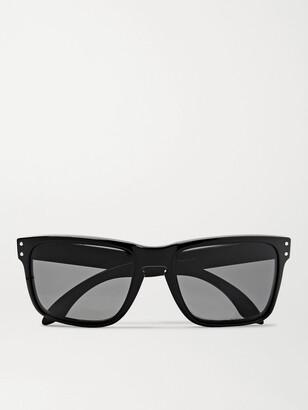 Oakley Holbrook Square-Frame Acetate Polarised Sunglasses