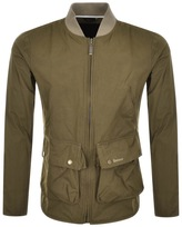 Barbour Camber Casual Bomber Jacket Brown