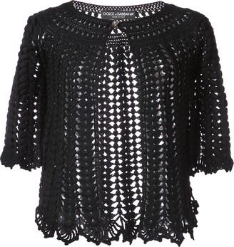 Dolce & Gabbana Cropped Knit Cardigan