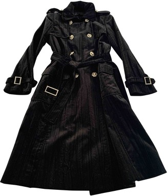 Escada Black Velvet Coat for Women