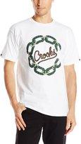 Crooks & Castles Men's Knit Crew T-Shirt - Chain C Cordage