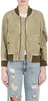R 13 Women's Cotton-Blend Shrunken Flight Jacket