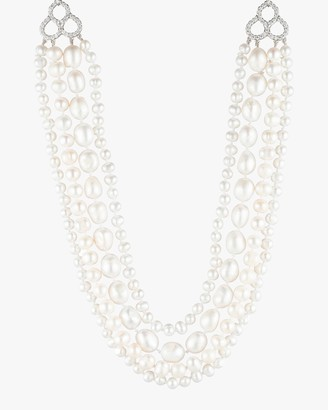 Carolee Freshwater Pearl Layered Necklace