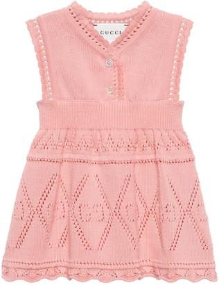 Gucci Baby GG cotton dress