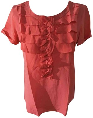 Max Mara Weekend Red Silk Top for Women