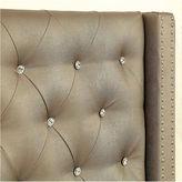 Asstd National Brand Madison Silver Upholstered Bed
