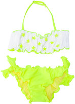 Mc2 Saint Barth Kids - ruffled bikini - kids - Polyamide/Spandex/Elastane - 6 yrs