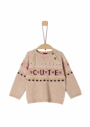 S'Oliver Baby Girls' 65.909.61.2314 Jumper