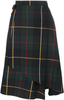 Manoush - tartan flared skirt