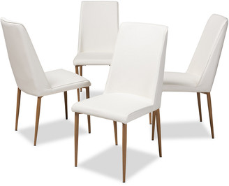 Design Studios Set Of 4 Chandelle Dining Chairs