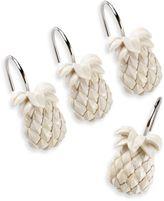 Tommy Bahama Pineapple Shower Curtain Hooks (Set of 12)