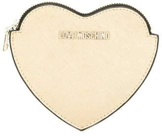 Love Moschino heart shaped purse