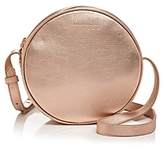 Karen Walker Suzi Round Mini Leather Crossbody