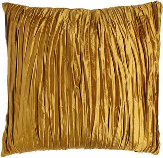 Austin Horn Collection Royale Reversible Gold Silk European Sham