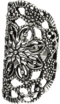 Charlotte Russe Flower Filigree Ring