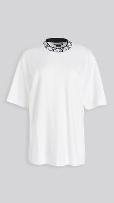 Acne Studios Eternal Rib Face T-Shirt