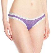 Kensie Women's Lacy Mattie Thong Panty