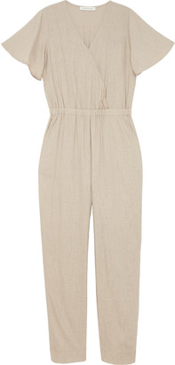 The Good Jane Women's Sleepy Elephant Dylan Jumpsuit In Color: Taupe Size XS From Sole Society