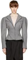 Jacquemus Grey la Petite Veste Jacket