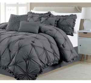Addy Home Fashions Shabby, Chic 7 Piece Comforter Set, King Bedding