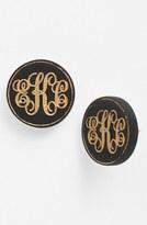 Moon and Lola 'Chelsea' Medium Personalized Monogram Stud Earrings (Nordstrom Exclusive)