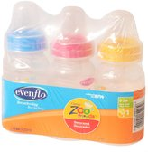 Evenflo Zoo Friends Decorated BPA FREE Bottles - 4oz- 3pk
