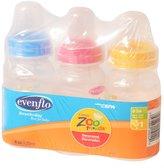 Evenflo Zoo Friends Decorated BPA FREE Bottles - 4oz- 3pk