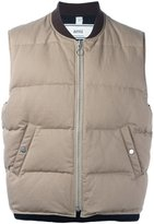 Ami Alexandre Mattiussi sleeveless down jacket - men - Cotton/Feather Down/Polyamide - S