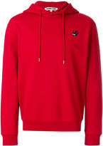 McQ Swallow badge hoodie