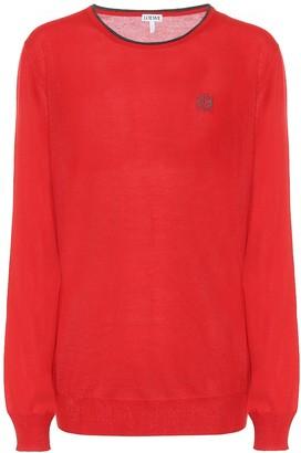 Loewe Cashmere and silk sweater