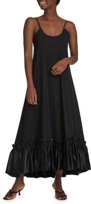 Maggie Marilyn Stirs The Heart Ruffled Maxi Dress
