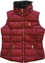 U.S. Polo Assn. Women's Faux Fur Quilted Vest