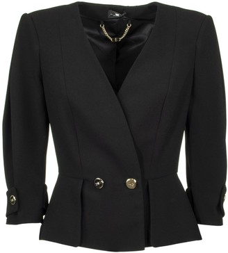 Elisabetta Franchi Celyn B. Jacket With Flashes