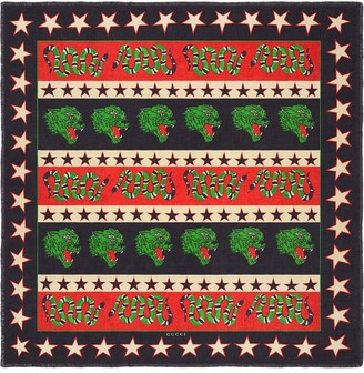 Gucci Modal shawl with symbols print