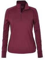 Royal Robbins Women's Long Distance 1/4 Zip T-Shirt