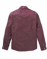 Lambretta Multi Gingham Long Sleeve Shirt Regular