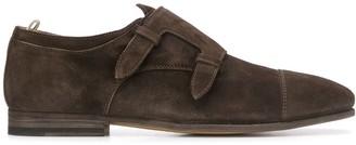 Officine Creative Double Strap Monk Shoes