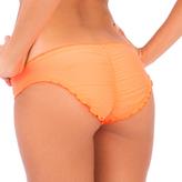 Luli Fama Cosita Buena Full Ruched Back Bottom In Hot Mess (L176521)