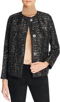 Lafayette 148 New York Holland Metallic Tweed Jacket