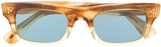 Oliver Peoples Marble Effect Sunglasses