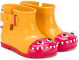 Mini Melissa monster style wellies - kids - PVC/rubber - 23