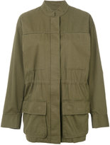 Alexander Wang oversized military jacket - women - Cotton/Polyester - XS