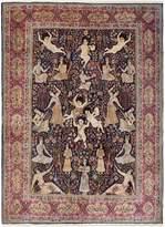 F.J. Kashanian Lavar Angels Hand-Knotted Wool Rug