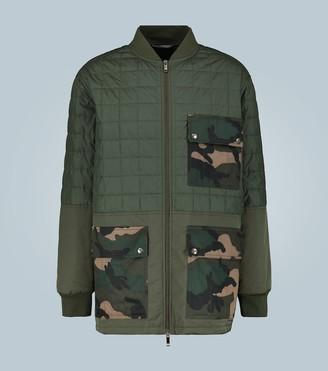 Valentino Camoflage print jacket
