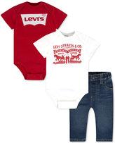 Levi's 3-Pc. Bodysuits & Jeans Box Set, Baby Boys (0-24 months)