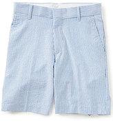 Class Club Big Boys 8-20 Striped Seersucker Shorts